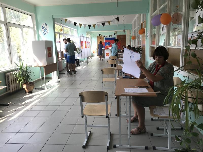На избирательном участке // фото автора