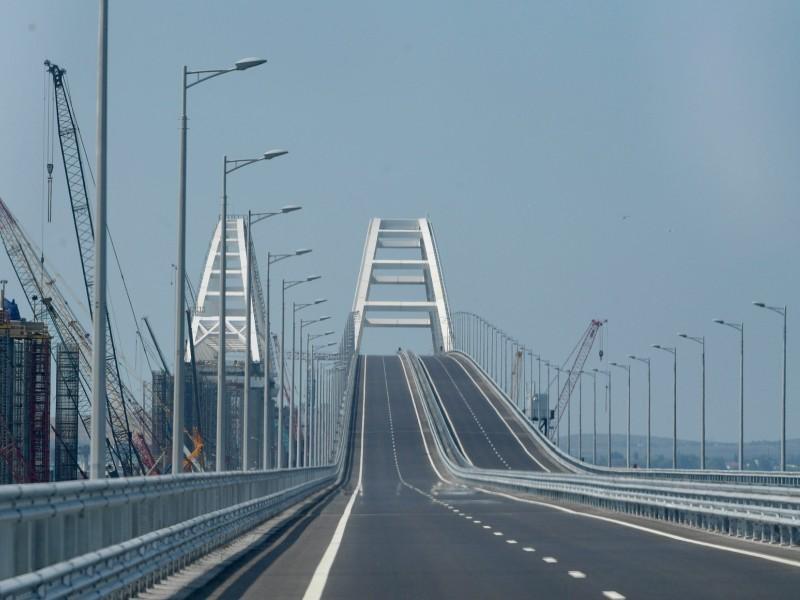Крымский мост через Керченский пролив // фото: Kremlin Pool / Global Look Press