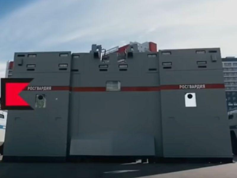 «Калашников» поставит Росгвардии комплексы «Стена» для защиты оттолпы