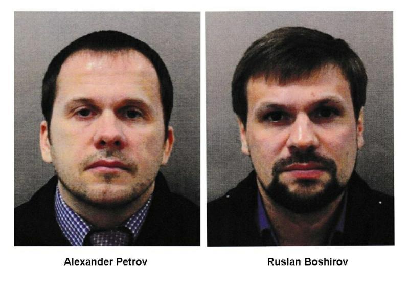 Александр Петров и Руслан Боширов – под такими именами этих людей сейчас знает британское следствие // фото: Global Look Press
