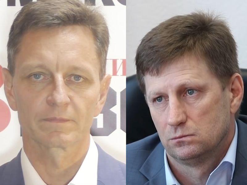 Слева: Владимир Сипягин; справа: Сергей Фургал // стоп-кадр / YouTube