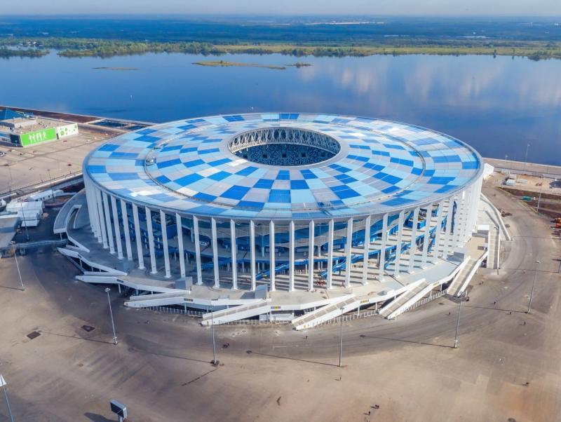 Стадион в Нижнем Новгороде построили – осталось рассчитаться с рабочими // Фото: Global Look Press