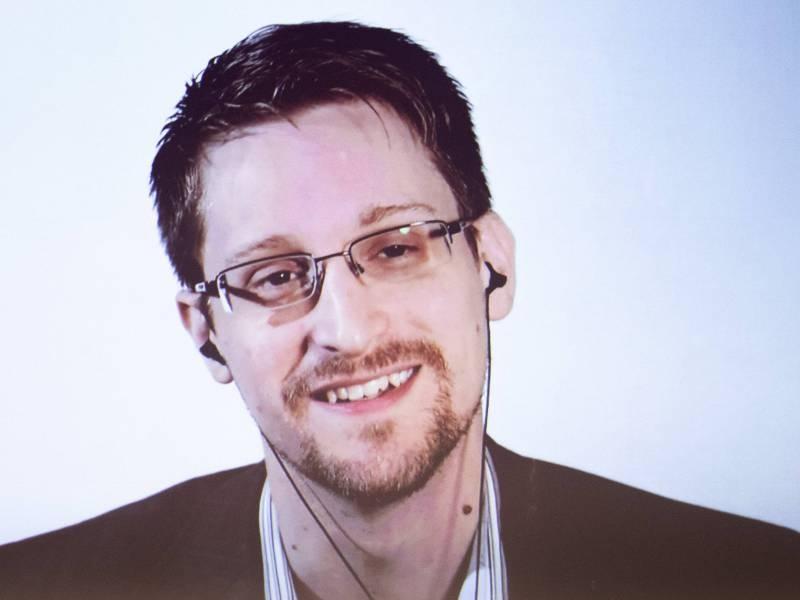 Эдвард Сноуден. Фото: EIBNER / EXPA / Johann Groder/ Global Look Press