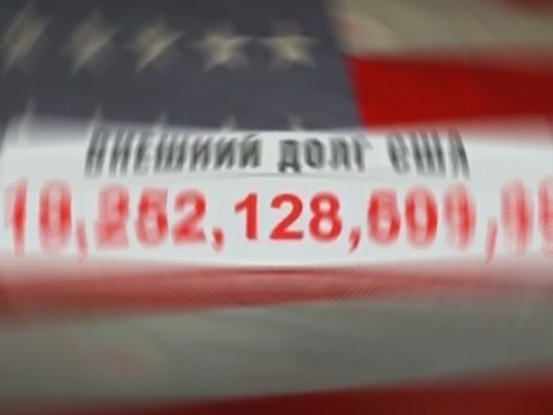 """О внешнем долге США как показателе скорого краха их экономики много говорит пропаганда. Как в этом свете относиться к долгам РФ? // стоп-кадр / """"Центральное телевидение"""" / НТВ"""