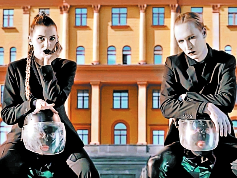 Кадр из клипа «Смерти больше нет», после которого начались запреты