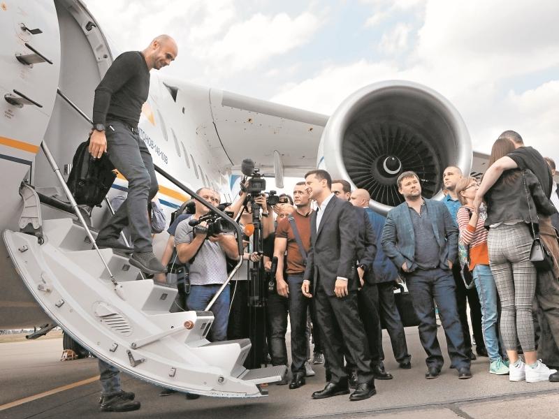 Встреча в Киеве // фото: Global Look Press