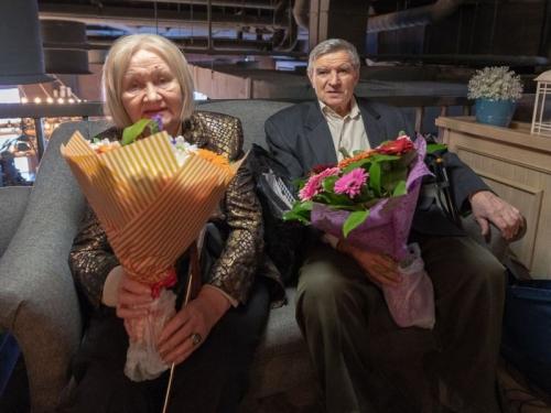 Виктор Михайлович и Александра Николаевна Шустиковы. Фото: официальный сайт ФК «Торпедо» Москва