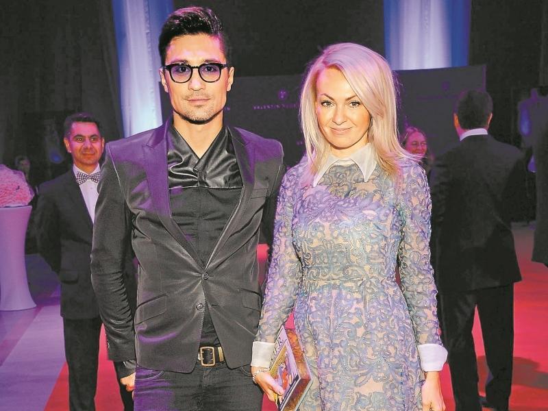 Билан и Рудковская // фото: Global Look Press