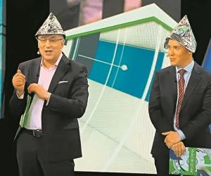 Шоу Норкина и Трушкина – сплав аналитики и клоунады. Это понимаешь и когда слушаешь их, и когда на них просто смотришь // фото: канал НТВ
