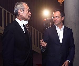 Валерий Фокин и Владимир Мединский / фото в статье: Андрей Струнин