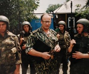 Генерал Романов в тот период жизни, «до» рокового тоннеля // фото в статье: архив семьи Романовых