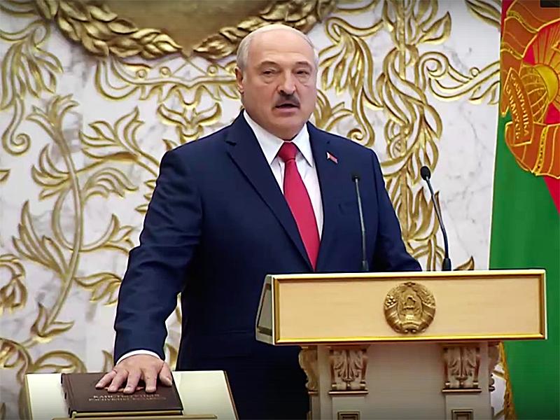 Инаугурация Александра Лукашенко / фото: соцсети