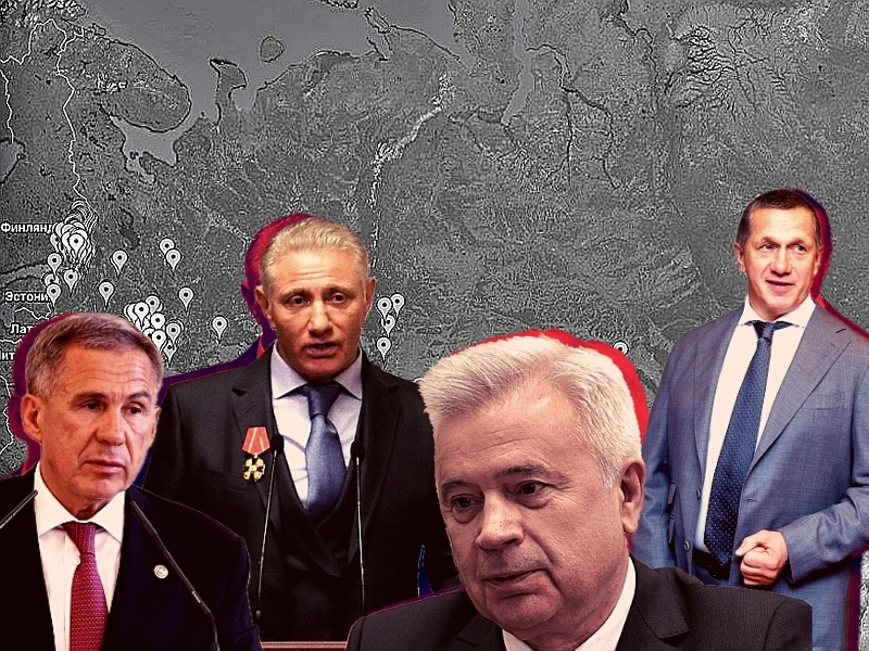 Карта захвата, которую составляет движение «Открытый берег» // коллаж Sobesednik.ru