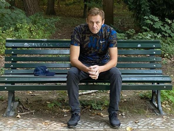 Алексей Навальный // Скриншот из Instagram