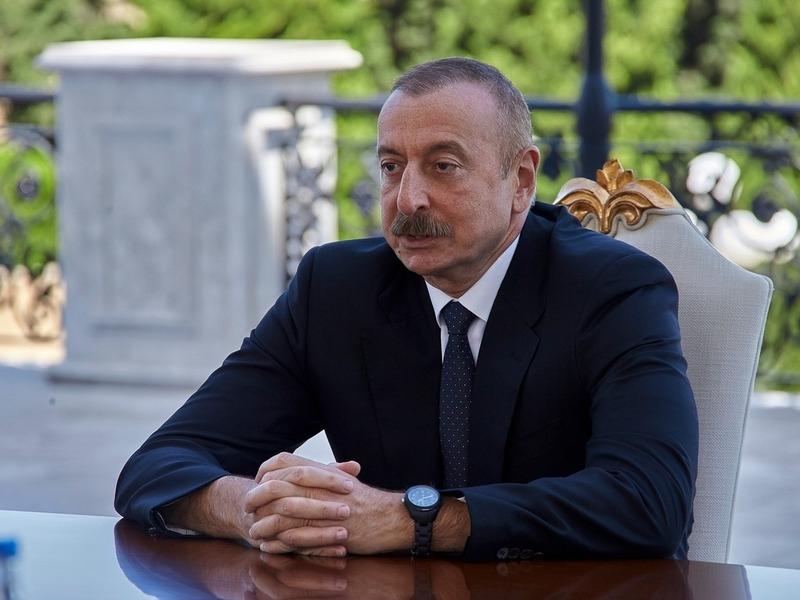 Ильхам Алиев // Фото: Global Look Press