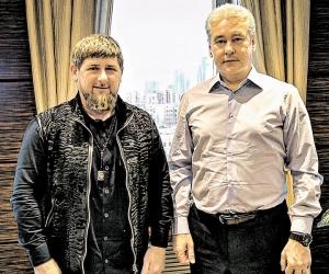 Кадыров и Собянин // фото: соцсети